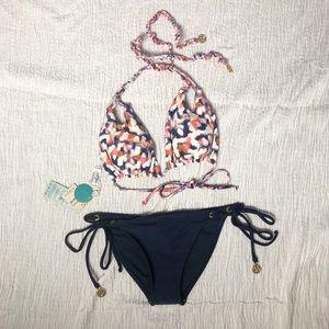 Luli Fama reversible bikini swim top